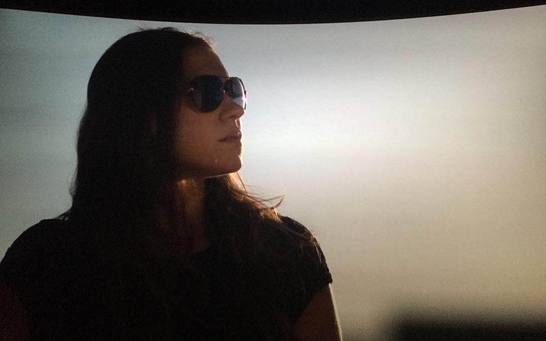 La actriz Elena Martínez en 4k #cine