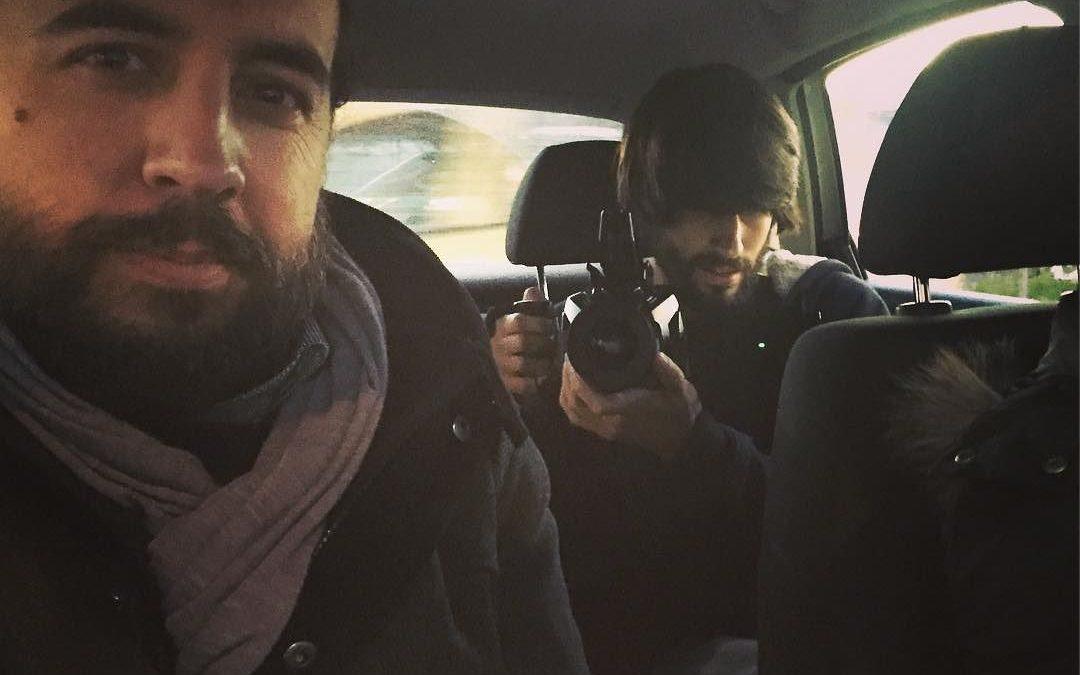 Una camara me persigue #videoblog #cine #rodajes