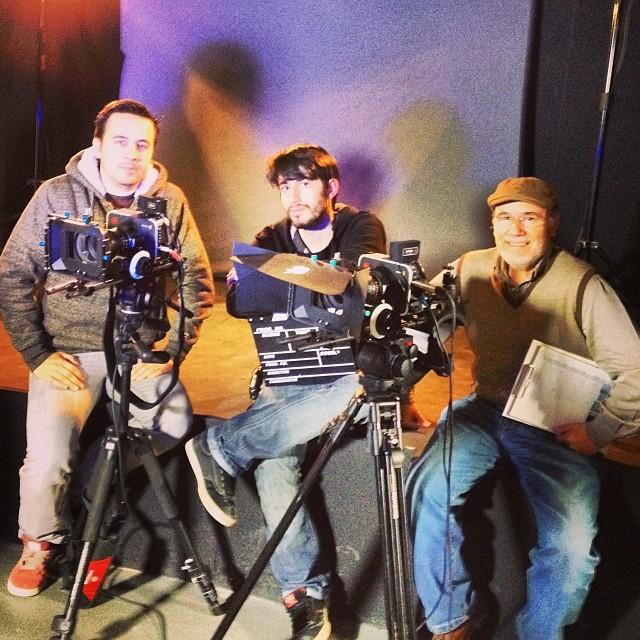 Estamos rodando cine