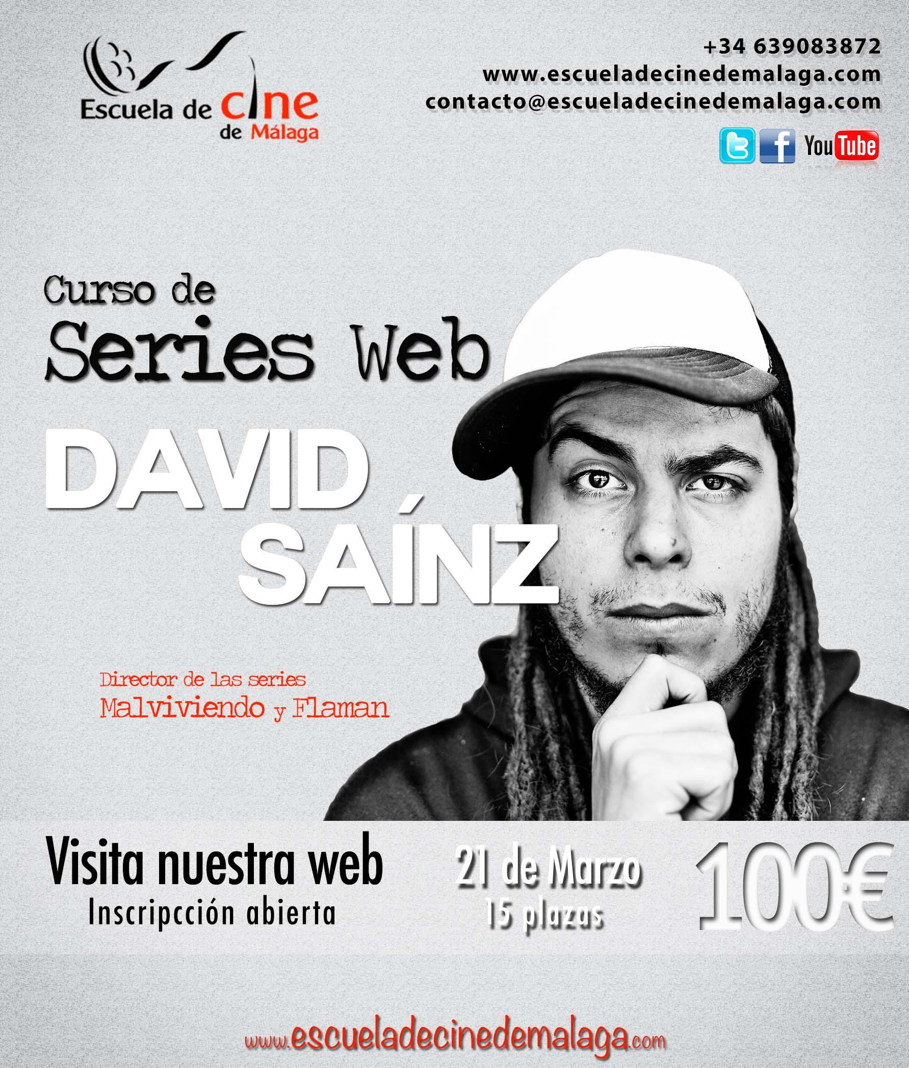 David Sainz-Rozas imparte un #curso en la Escuela de Cine de Málaga