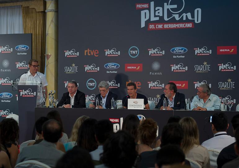 Gala II Edición Premios Platino