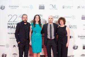 La película esta en la Seccion Oficial Fuera de Concurso en el Festival de Malaga