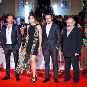 La serie akemarropa se rueda durante el festival de Málaga