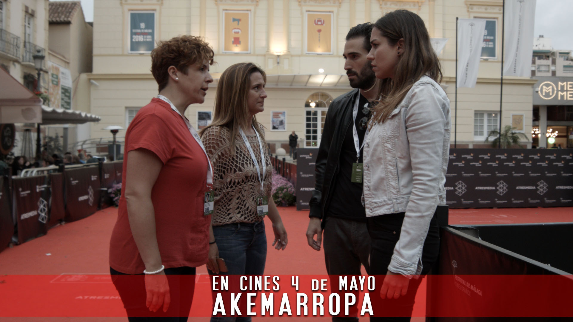 la alfombra roja de Akemarropa